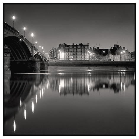 battersea bridge study 8 night