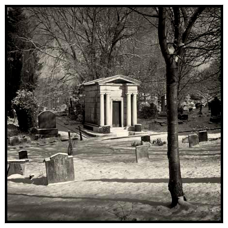 mausoleum snow